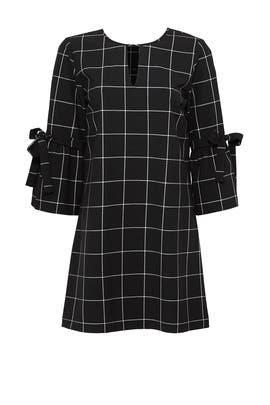 Windowpane Lena Dress by Waverly Grey