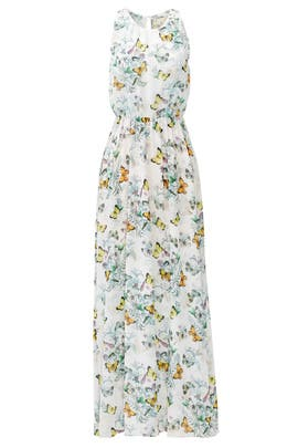 Floral Flutter Maxi Dress by ERIN erin fetherston