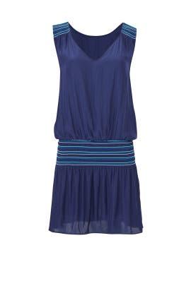 Navy Dany Dress by Ramy Brook