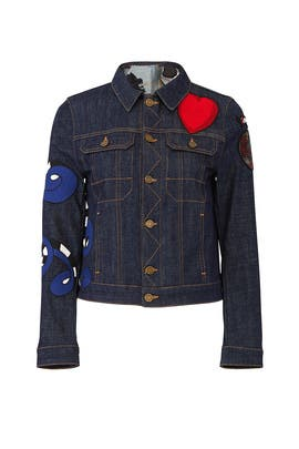 Kioky Brode Denim Jacket by Zadig & Voltaire