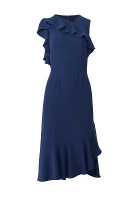 Navy Beverly Dress by Amanda Uprichard