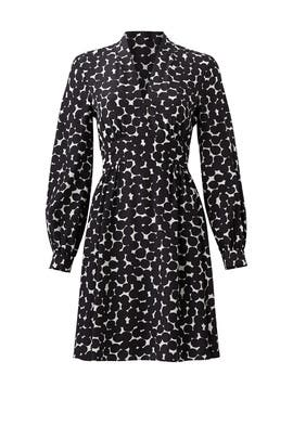 Black Blot Dot Dress by kate spade new york