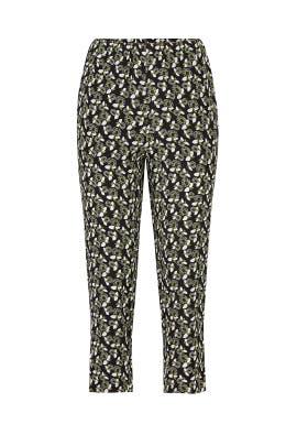 Plumeria Print Pants by Marni