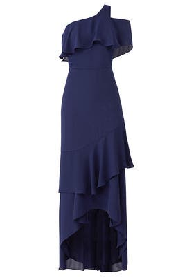 Navy Sharon Gown by Parker