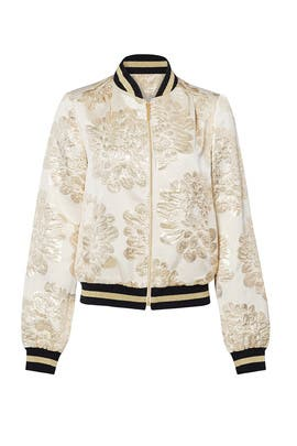 Champagne Pep Jacket by Trina Turk