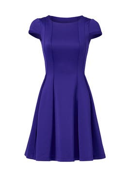 Capped in Purple Dress by Yoana Baraschi