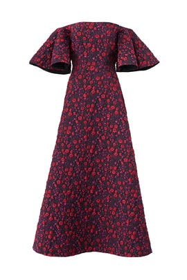 Floral Jacquard Dress by Jill Jill Stuart