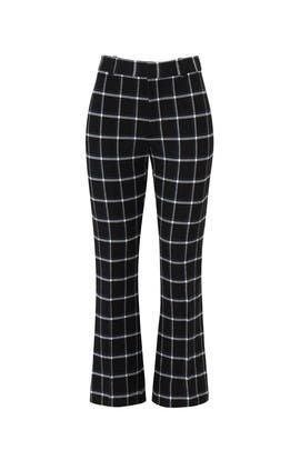Black Plaid Trouser by Derek Lam 10 Crosby
