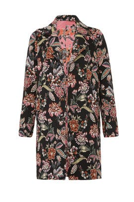 Floral Tapestry Coat by Fifteen Twenty