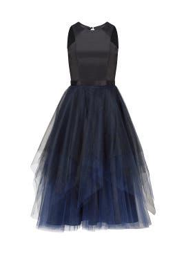 Blue Machi Dress by nha khanh