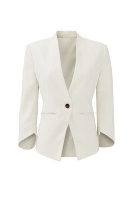 White Envelope Blazer by Slate & Willow