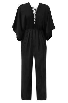 Black Mirabel Jumpsuit by Rachel Zoe
