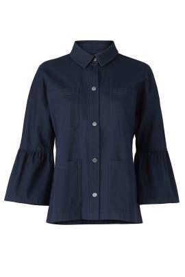 Hayley Twill Jacket by Greylin