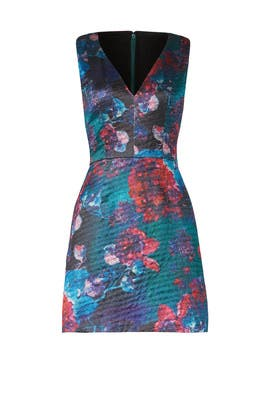 Dark Floral Erin Dress by Hutch