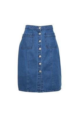 On Cloud Nine Denim Skirt by BB Dakota
