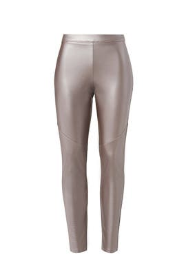 Platinum Faux Leggings by Josie by Natori
