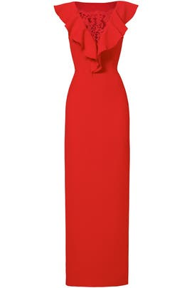 Red Jenny Gown by Rachel Zoe