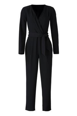Black Amanda Jumpsuit by Slate & Willow