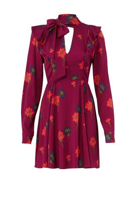 Plum Aubree Dress by Tanya Taylor