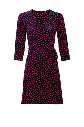 Perfect Faux Wrap Dress by Leota