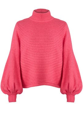 Pink Bella Top by Rebecca Vallance