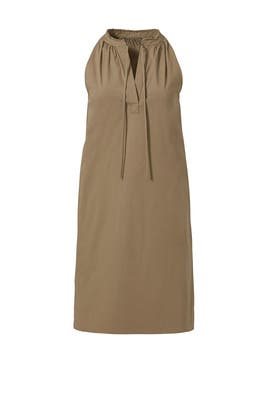 Olive Nallane Light Poplin Dress by Theory