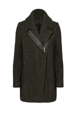 Olive Zoe Coat by Andrew Marc