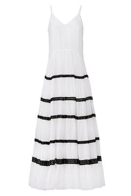 White Marieta Maxi by CAROLINA K