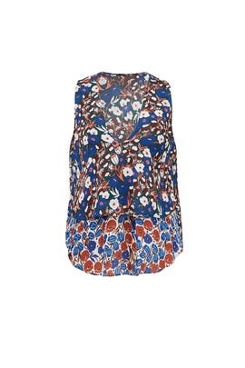 Poppy Floral Top by Derek Lam 10 Crosby