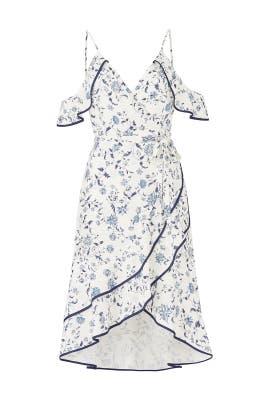 Emma Ruffled Wrap Dress by Greylin