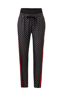 Ruby Flower Print Trouser by The Kooples