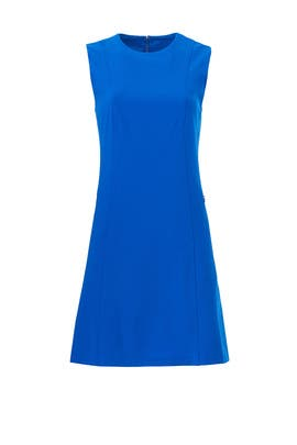 Blue Helaina Dress by Theory