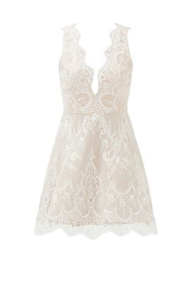Ivory Lace Chandelier Dress by STYLESTALKER