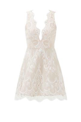 Ivory Lace Chandelier Dress by STYLESTALKER