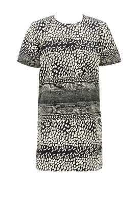 Pebbled Path Shift Dress by Hunter Bell