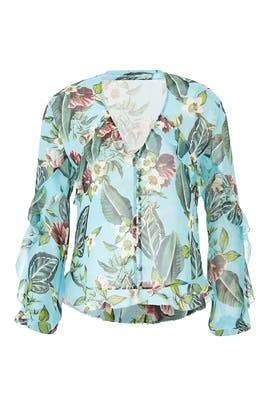 Sheer Mayflower Blouse by Nicholas
