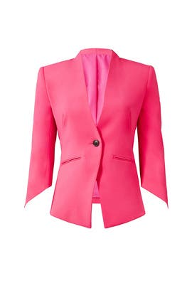 Raspberry Envelope Blazer by Slate & Willow