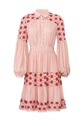 Pink Broderie Anglaise Dress by byTiMo