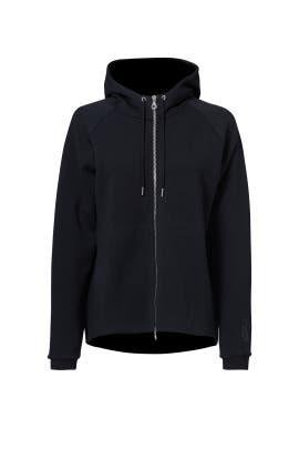 Black Tech Fleece Hoodie by Nike