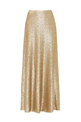 Gold Cecilia Maxi Skirt by Slate & Willow