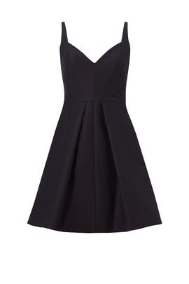 Black Sweetheart Dress by Halston Heritage