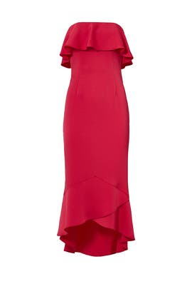 Pink Essie Midi Dress by Shoshanna