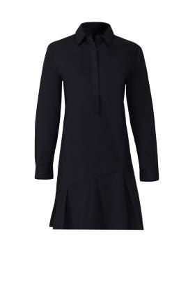 Black Siena Shirt Dress by TY-LR