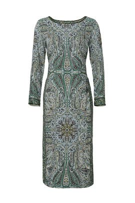 Emerald Paisley Tunic by CALYPSO St. Barth