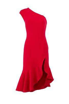 Red Mirrors Dress by Keepsake