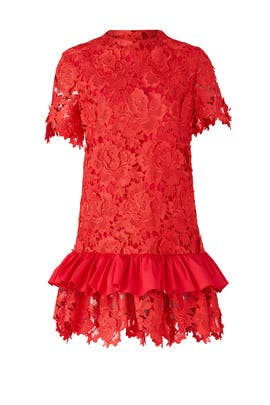 Red Rosaria Dress by Alcoolique