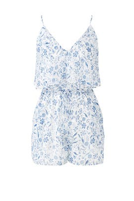 Melody Floral Romper by Greylin