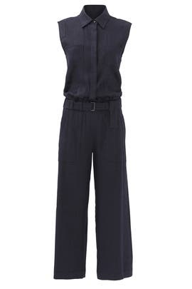 Blue Uniform Jumpsuit by VINCE.