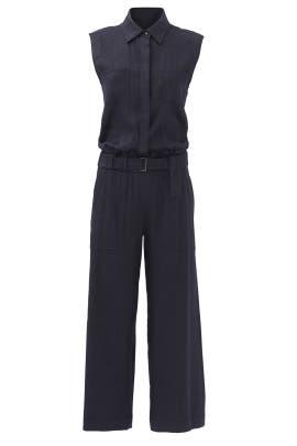 Blue Uniform Jumpsuit by VINCE.