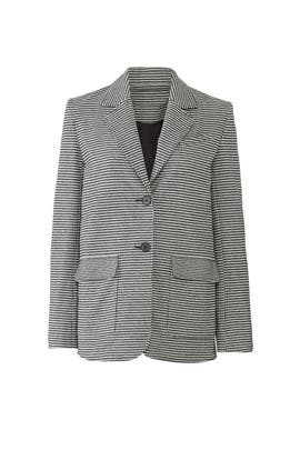 Gingham Oversized Blazer by Derek Lam 10 Crosby